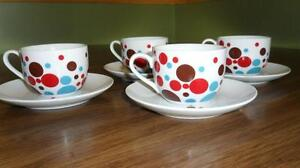 Second Cup - Coffee Cup Set Kitchener / Waterloo Kitchener Area image 1