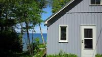 Sauble Beach Waterfront Cottage for rent