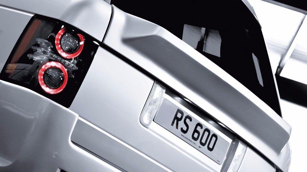Range Rover Vogue L322 Kahn RS Lower Boot Lid Spoiler 2009 10 11 12