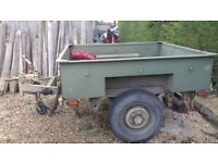 Land Rover Sankey military trailer
