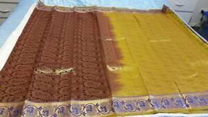 Kanchipuram Soft Silk Saree #KAN 014 / Sari / Salwar / Bollywood Dress