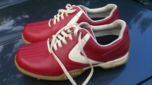 Red Golf Shoes Size 6 -TRURO