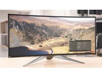 """Alienware AW3418DW 34"""" Curved UltraWide Monitor"""