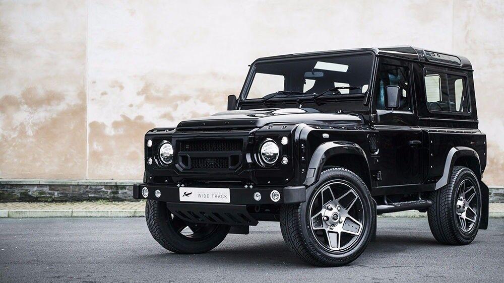 Land Rover Defender 20 inch Alloy Wheels Black Kahn Mondial Set of 5