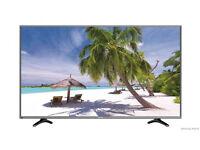 "Hisense LTDN55K321UWTSEU 55"" 4K UHD DLED TV SMART Dark Grey C Graded Boxed Item"