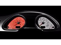 Kahn Audi Q7 Instrument Dial Panel 6K Red MPH KMH
