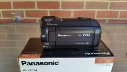 Panasonic HC-V770M HD Video Camera