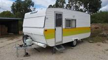 1984 Viscount Caravan Yackandandah Indigo Area Preview