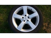 "20"" Startech Wheels with Continental Sport Contact 2 Tyres x 4"
