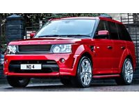 22 inch Alloy Wheels Kahn RS600 Range Rover Sport Vogue Discovery set of 4