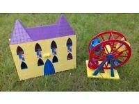 PEPPA PIG castle and fun fair wheel