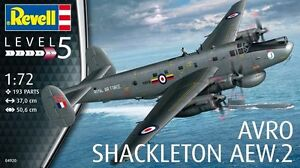 Revell 1/72 Avro Shackleton AEW.2 Plastic Model Kit RV04920