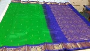 Kanchipuram Soft Silk Saree #KAN 020 / Sari / Salwar / Bollywood Dress