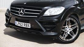 Wide Arch Body Kit Mercedes Benz ML AMG