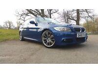 BMW 320D 2010, LE MANS BLUE - SPORT PLUS (184), BUSINESS EDITION I-DRIVE - FULL BMWSH