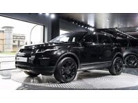 Kahn Range Rover Evoque Alloy Wheels Black RS600 20inch Set of 4 Black