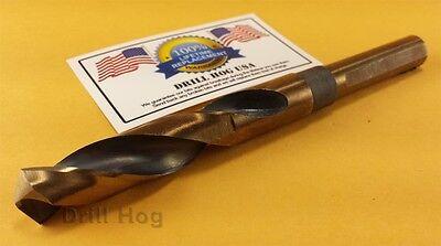 """Drill Hog USA 5/8"""" Drill Bit 5/8"""" Silver & Deming Bit M7 HSS"""