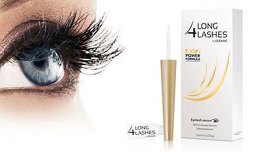 Long 4 Lashes FX5 POWER FORMULA Eyelash GROWTH Enhnacing Serum 3ml