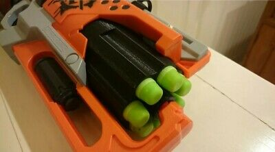 3DPrinted 7 Darts Cylinder with Reinforced Gear for Nerf Hammer Shot Modify Toy