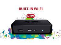 Mag254w1 mag wifi free gift iptv streamer