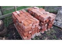IMPERIAL RED BRICKS Reclaimed Victorian house bricks red clay