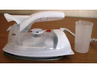 Travel steam iron and Plug in Mosquito repellents. £1 - £2.50