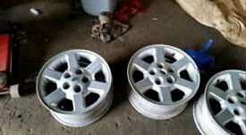 """Land rover discovery 2 td5 v8 alloy wheels 16"""" inch"""