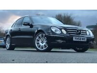 Mercedes-Benz, E CLASS, Saloon, 2008, Full Service history, 1 Previous Owner