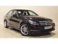 MERCEDES-BENZ C-CLASS 2.1 C250 CDI BLUEEFFICIENCY AMG SPORT 4d AUTO 202 (black) 2013