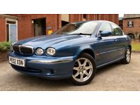 *** BARGAIN *** 2002 JAGUAR X TYPE 2.1 V6, LONG MOT, FULL LEATHER, IMMACULATE, MUST BE SEEN, CHEAP