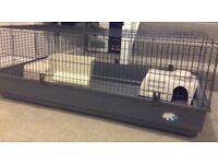 Rabbit Guinea Pig Cage Indoor Large with rabbit houses etc