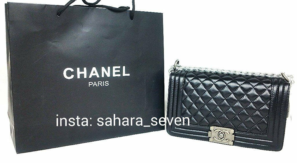 Ladies Le Boy bag High Quality lambskin leather