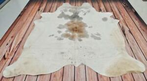 Gray White Cowhide Rug Brazilian Cow Hide Peau De Vache Free Shipping 80 X 75 Inches 1530 Western Style Cow Rugs