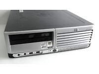 Dual Core PC - HP Compaq (3GB Ram, Windows 10, Core 2 Duo, 2.13GHz E6400, Office 2010, 160GB HD) PC