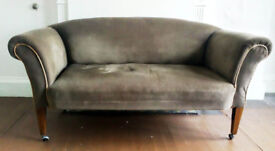 Antique Sofa with Drop Arms