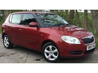 Skoda Fabia 2 HTP 70 1.2 12v 5 Door Hatch, ONLY 2 Lady Owners*MOT JUNE 2018*LOW RUNNING COSTS*
