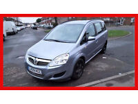 2009 Vauxhall Zafira 1.9 CDTi Exclusiv 5dr-- Automatic-- Low Miles -- Hpi Clear-- 7 Seater -- Diesel