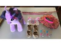 Selling a Build-A-Bear my lilttle pony & accessories toy bundle