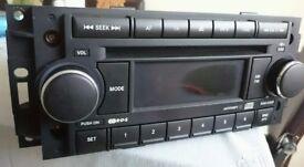 CHRYSLER DODGE JEEP COMPATIBLE CD/RADIO PLAYER P05064067AD