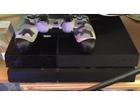 Ps 4 500gb and 3 games 1 controller