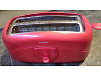 RED TOASTER, PERFECT WORKING ORDER