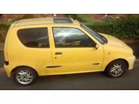Fiat Seicento (1999), Good runner, 8 months MOT, 101k miles, Keyworth