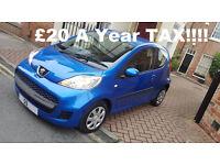 Peugeot 107 Urban 1.0 12V- 1 YR MOT FULL SERVICE HISTORY, £20 TAX Group 1 Insurance, Aygo, C1