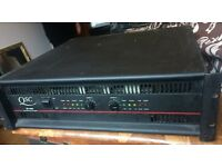 QSC EX4000 Professional Audio 2-Channel 1600w Per -Channel Power Amplifier