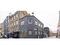 Creative space in shoreditch with character and garden, storage, kitchen