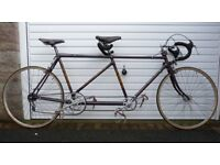 EXCEL TANDEM BY DAN GENNER CYCLES OF LONDON – VERY RARE CLASSIC 531 ROAD RACING BIKE (VINTAGE 1946)