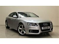 AUDI A5 2.0 SPORTBACK TDI S LINE 5d 168 BHP + TOP SPEC WITH ALL THE EXTRAS (silver) 2011