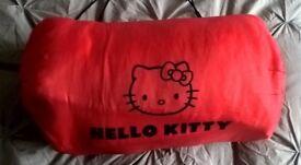 Girls Hello Kitty sleeping bag