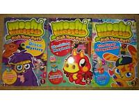 Moshi Monsters Pick your Path books