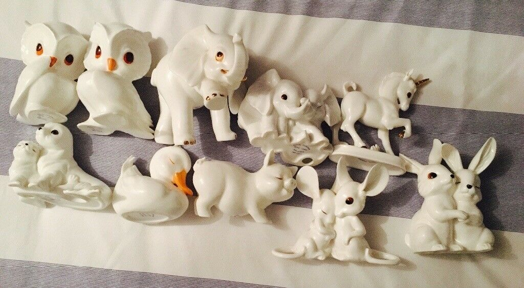 10 Royal Osbourne Bone China Ornaments